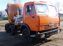 Автобетоносмеситель КамАЗ-55111БС, 4,5м3