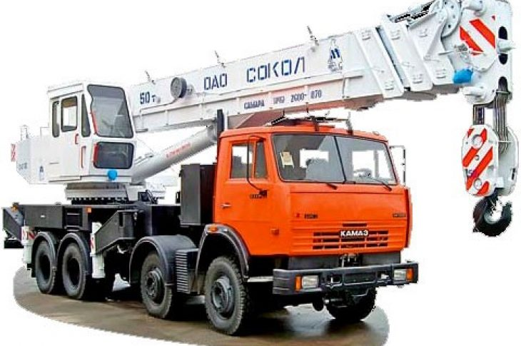 Автокран КС 6574 (СКАТ – 40), г/п 40 тн, Lстр=26,2м