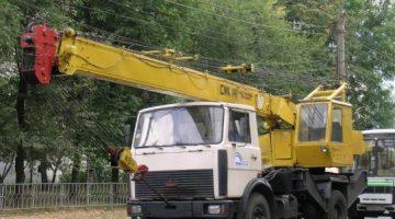 Автокран (МАЗ-5337044) СМК-14, г/п 14 тн, Lстр=14,0м