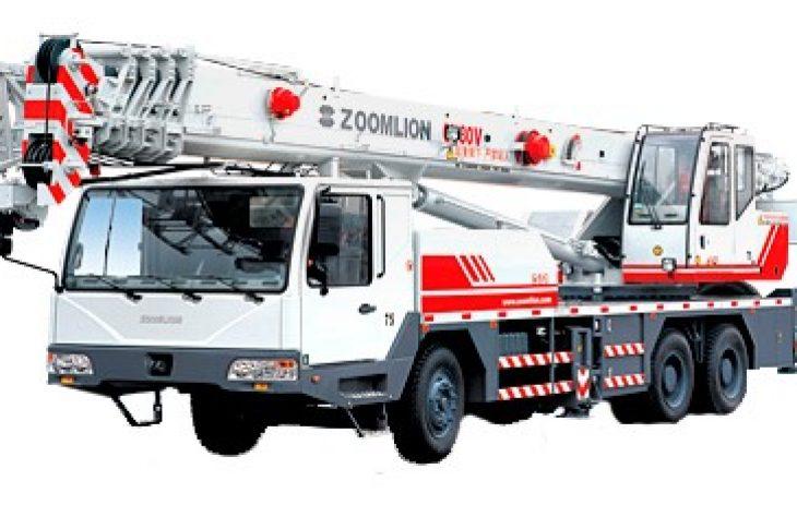 Автокран, ZoomlionQY30V,  г/п 30т, Lстр=49,0м с гуськом