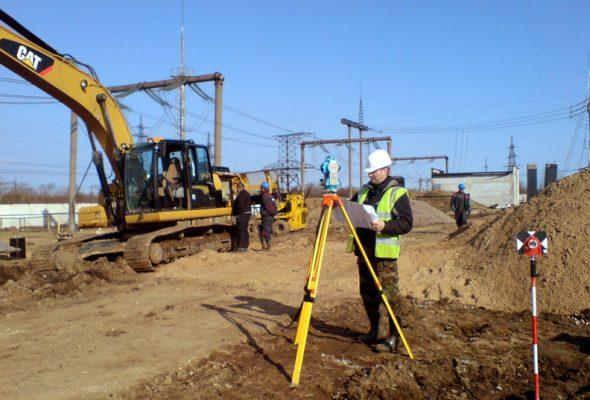 Геодезические работы, выполняемые на строительных площадках